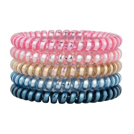 Candyland Skinny - Ouchless Coil Hair Tie Set
