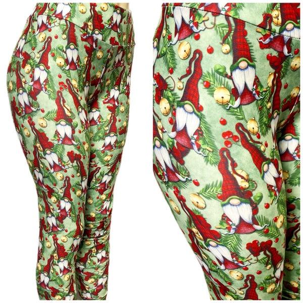 Christmas Gnomies - Leggings - Reg/Plus