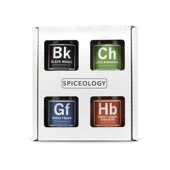 Top 4 Spiceology - BBQ Rubs - Gift Set
