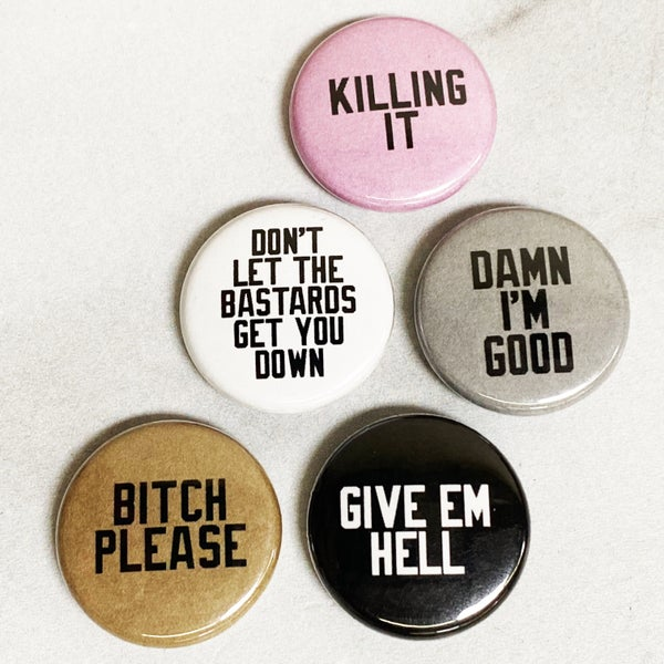 Cheeky Buttons - 5 Pack