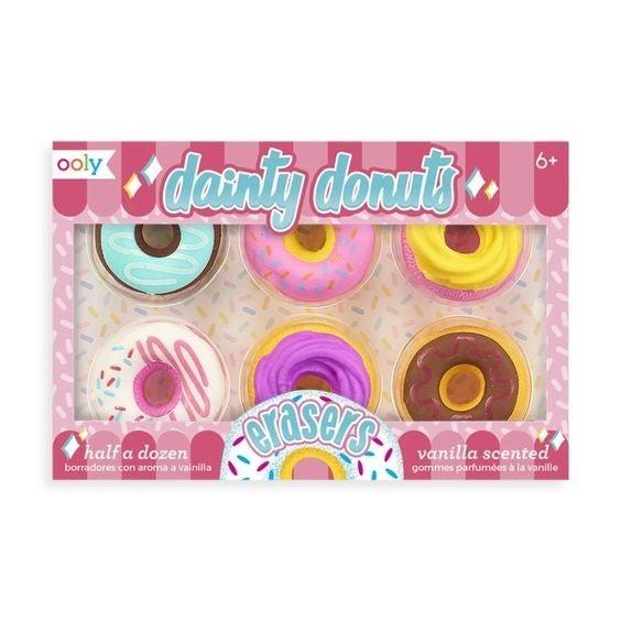 Dainty Donut Vanilla Scented Erasers