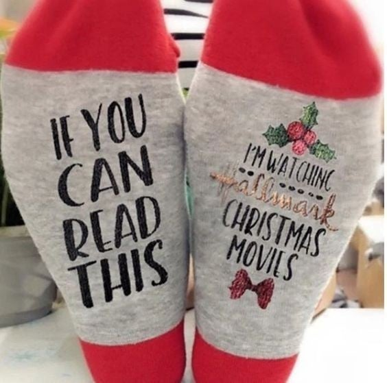 Hallmark Christmas Movies Socks