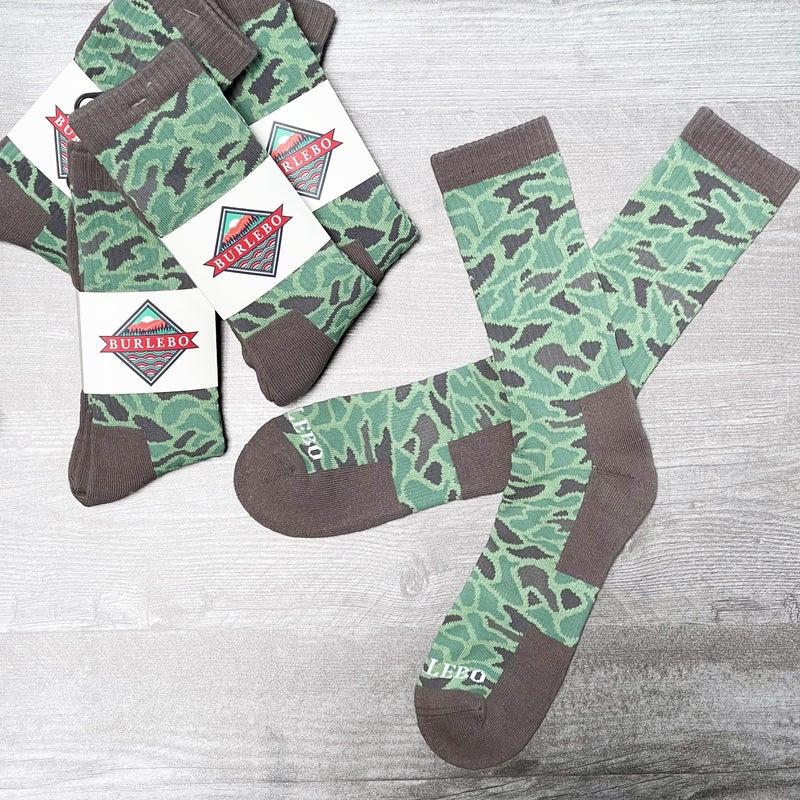 Camo - Men's Socks - Burlebo