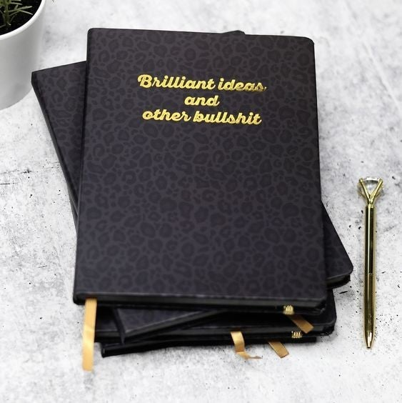 Brilliant Ideas & Other Bullshit - 80 page Journal