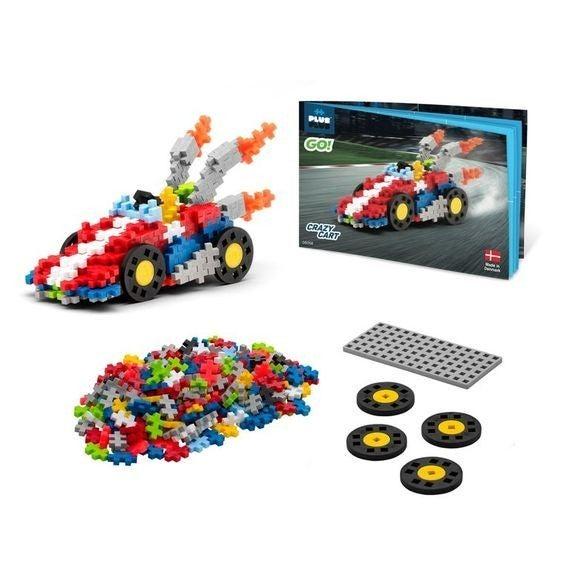 GO! - Crazy Cart - Plus-Plus 240 Piece Set