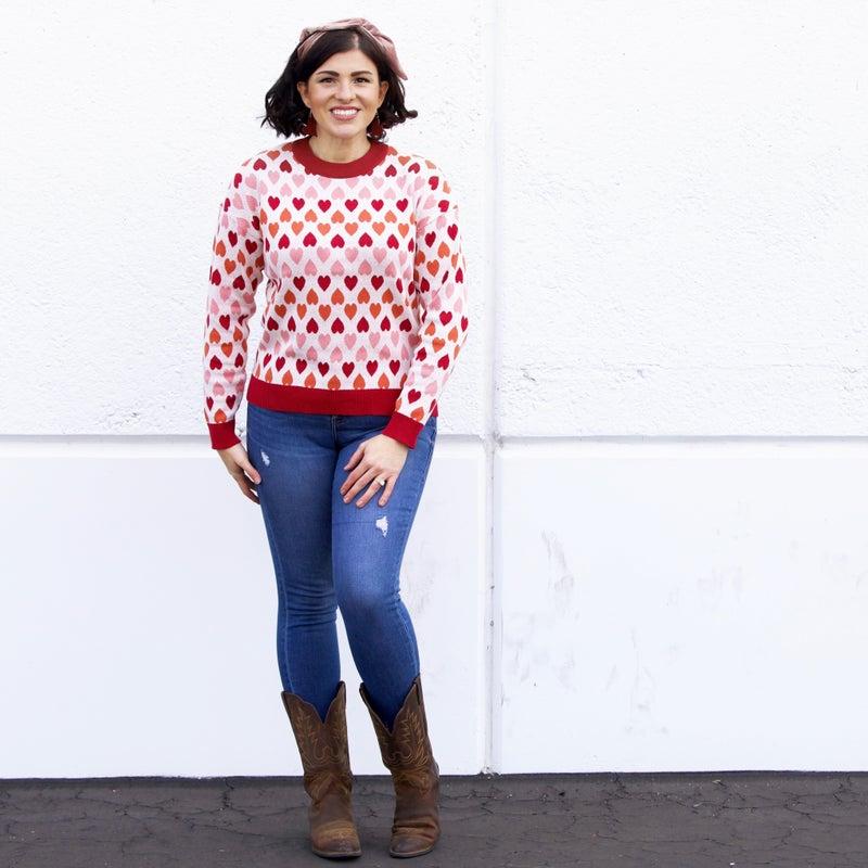 Fools Rush In Sweater - Reg/Plus