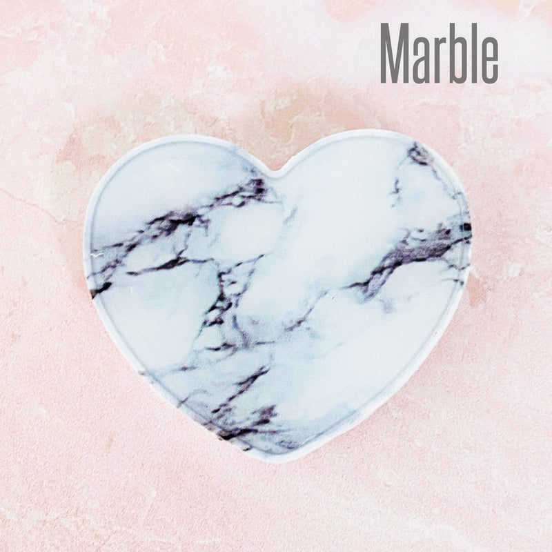 Acrylic Heart Pop-Up Phone Grips