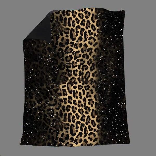 Stardust Leopard - Super Soft Blanket