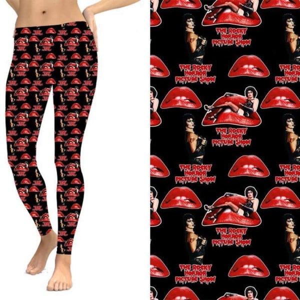 Rocky Horror - Leggings w/Pockets