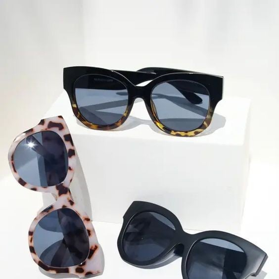 Oversized Moodie Sunglasses - 3 Colors