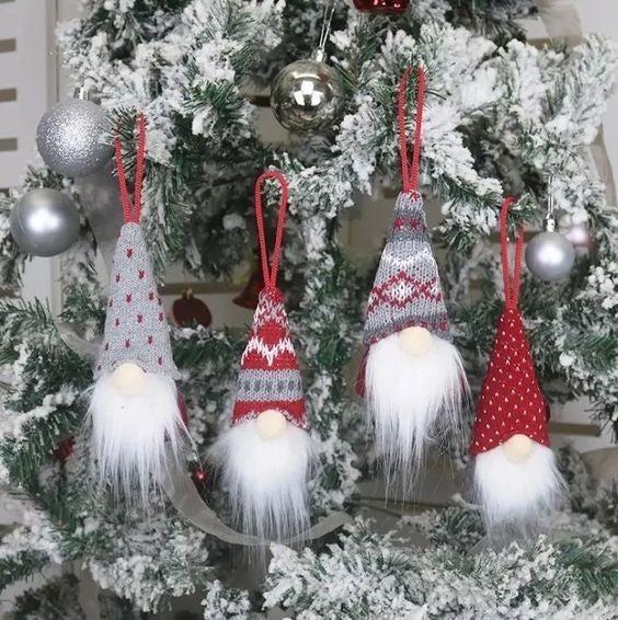 Gnome Ornament - 4 Pack