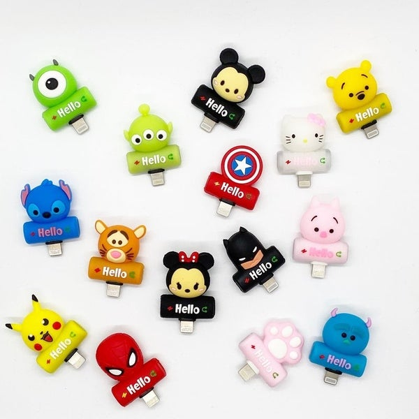 Silicone Characters - Lightning/Aux Splitter