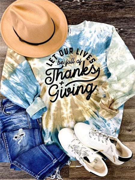 Thanks + Giving Sweatshirt - Reg/Plus