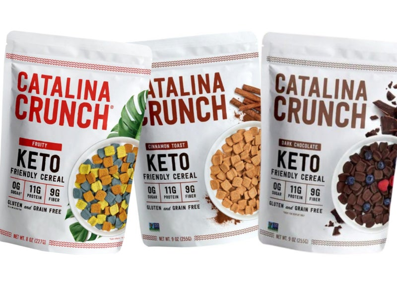 Katie's FAVE! Keto Cereal - Catalina Crunch