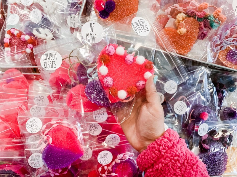 Valentine's Heart Hanging Freshies