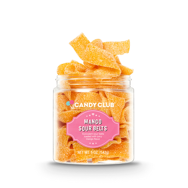 Mango Sour Belts - Candy Club