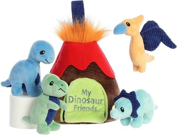 Dinosaur Friends Playset