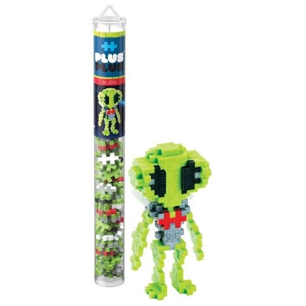 Alien - Plus-Plus 70 piece Tube