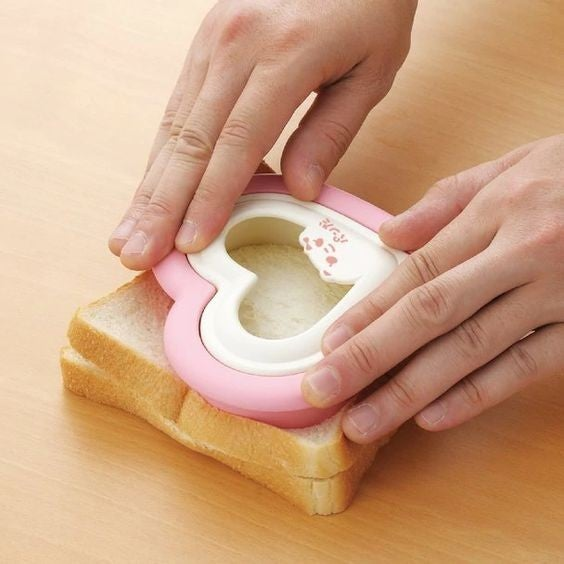Press-n-Seal Heart-Shaped Sandwich Cutter