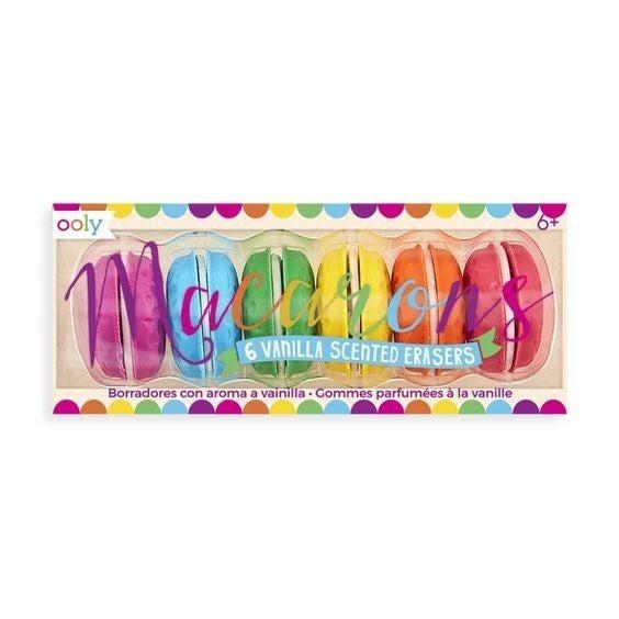 Macarons Vanilla Scented Erasers