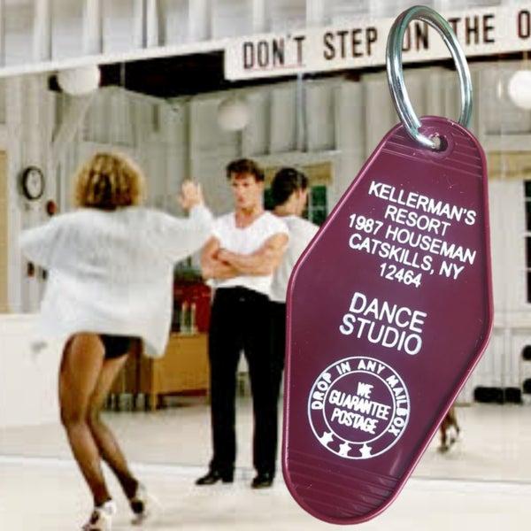Kellerman's Resort - Dirty Dancing - Motel Key Fob