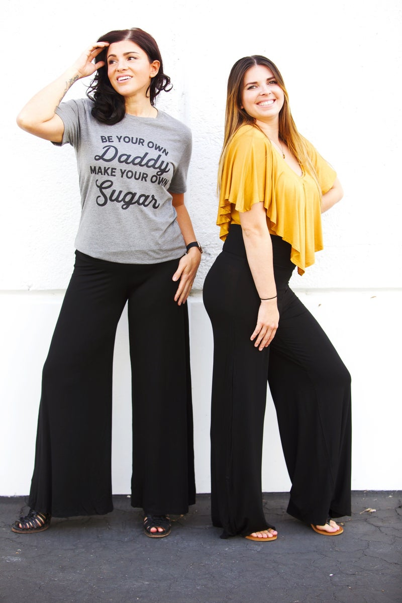 Ready For It - Black Palazzo Pants