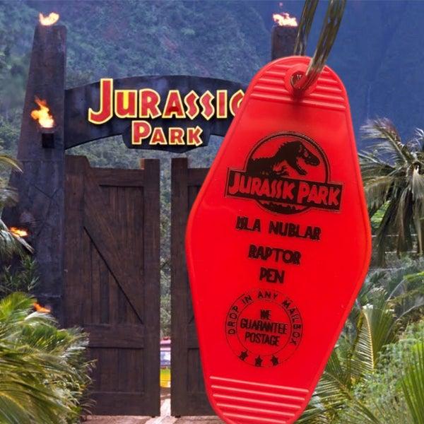 Jurassic Park - Motel Key Fob