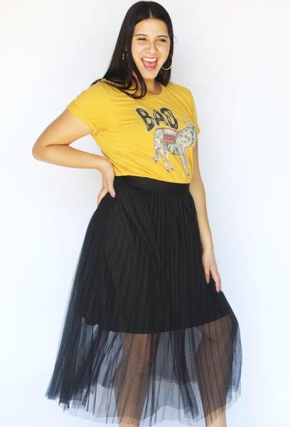 Black Tulle Ballerina Skirt
