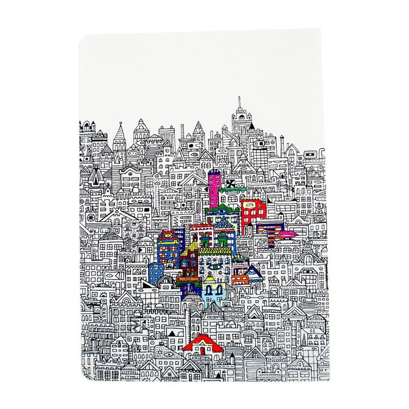 Urban Cities - Travel Size Coloring Book