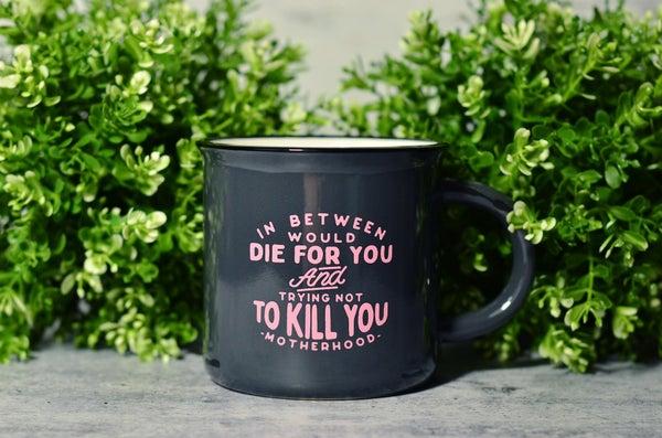 Motherhood Mug - Ceramic 15 oz
