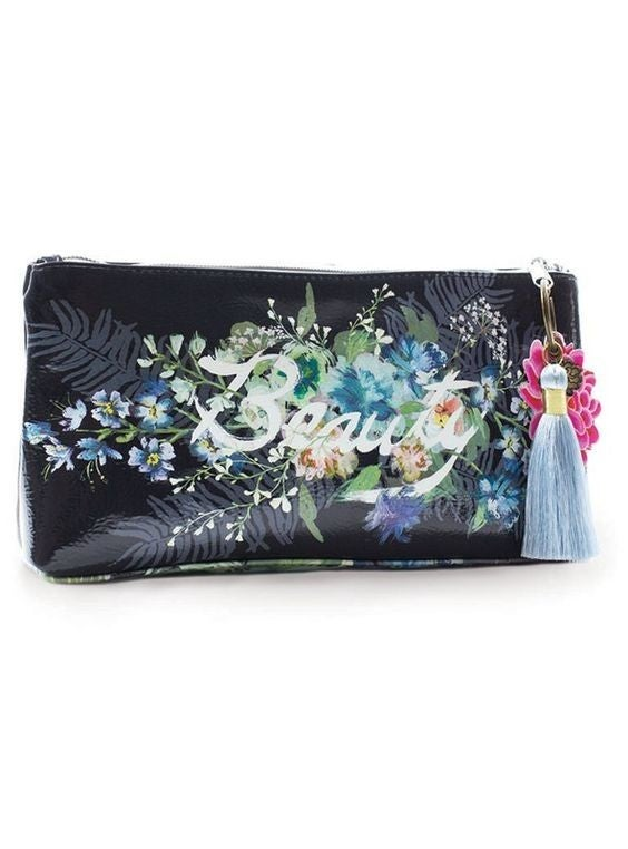 Black Beauty Bouquet - Tassel Pouch