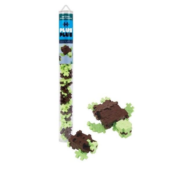Sea Turtle - Plus-Plus 70 piece Tube