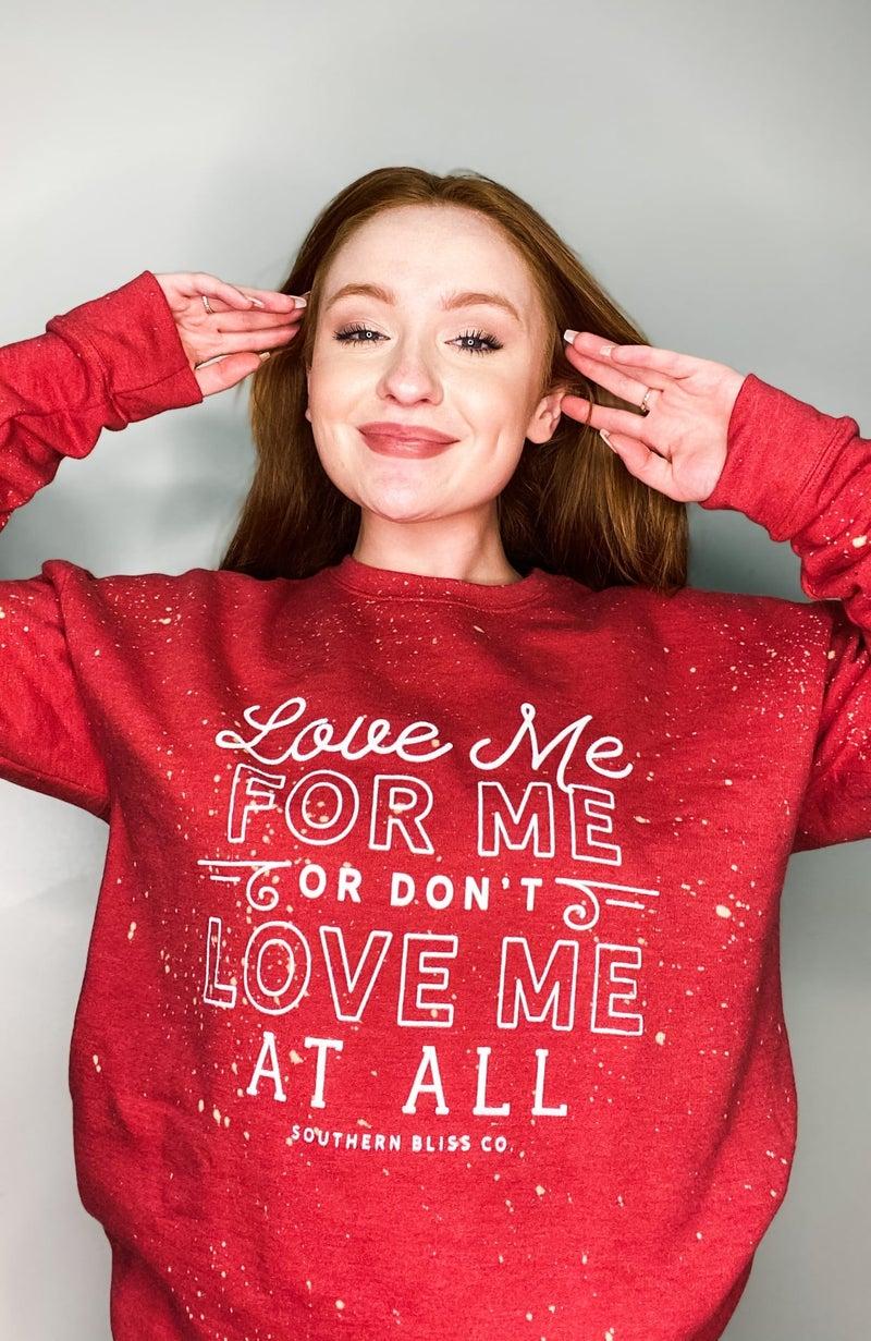 Love Me For Me - Sweatshirt - Reg/Plus