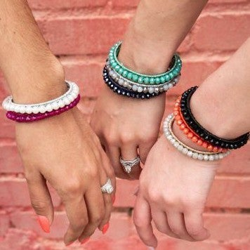 Essential Stackable Beaded Bracelet Cuff