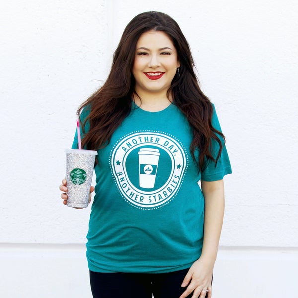 Another Day, Another Starbies - T Shirt - JLB - Reg/Plus