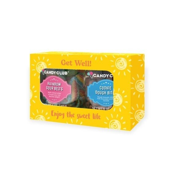 Get Well Gift Set - Candy Club