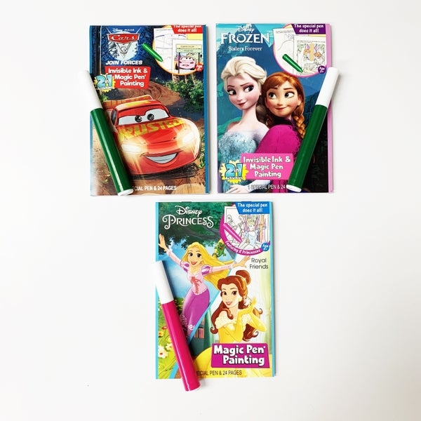 Disney Magic Invisible Ink Pen and Coloring Book