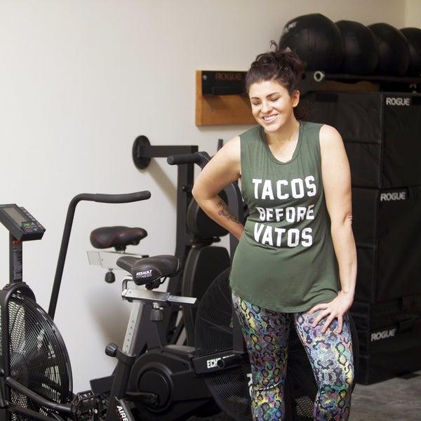 Tacos Before Vatos - Boyfriend Tank