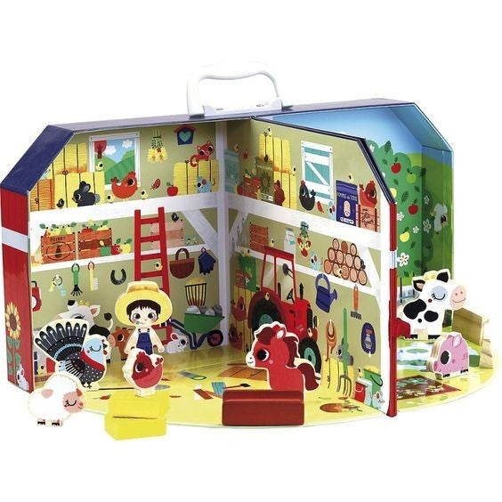 My Little Farm - Suitcase Playset