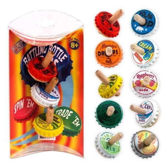 Classic Toys: Battling Bottle Tops