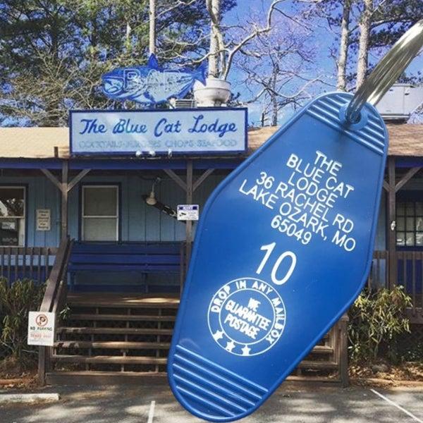 The Blue Cat Lodge - Ozark - Motel Key Fob