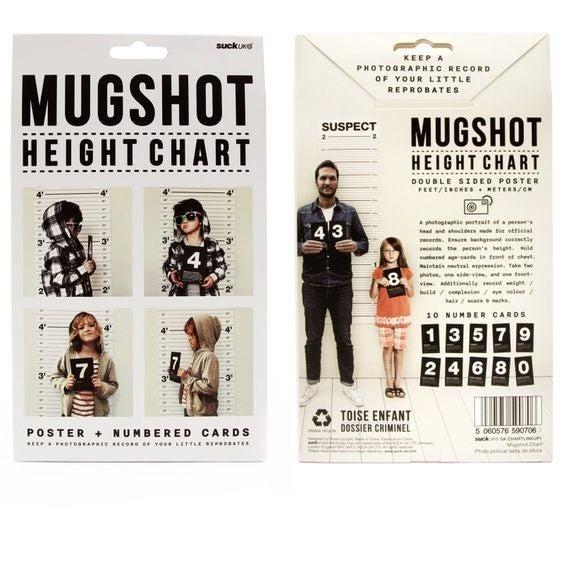 Mugshot Height Chart