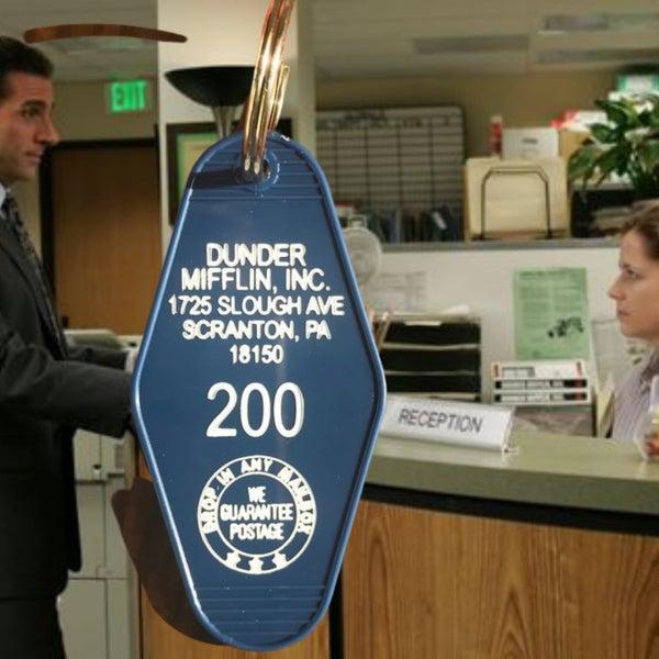 Dunder Mifflin - Motel Key Fob