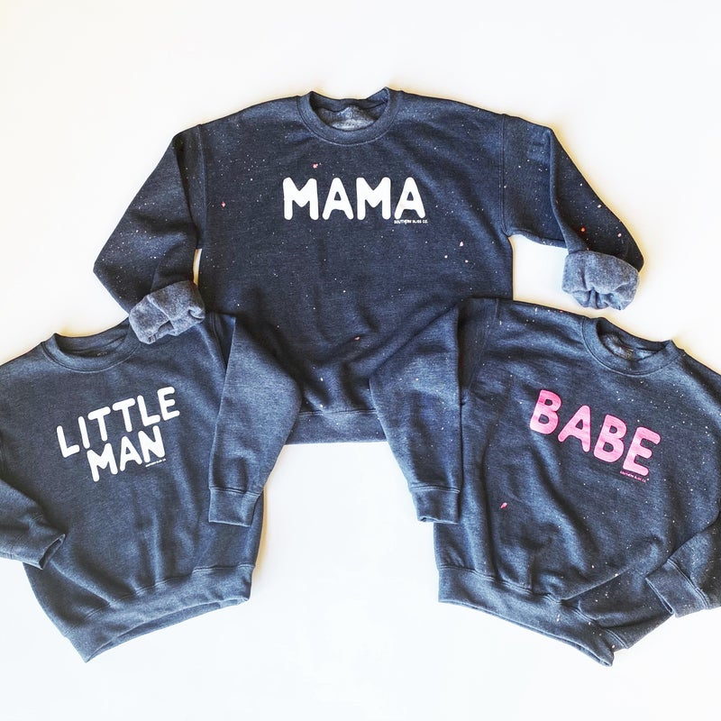 Mama & Her Littles - Mommy & Me Sweatshirts