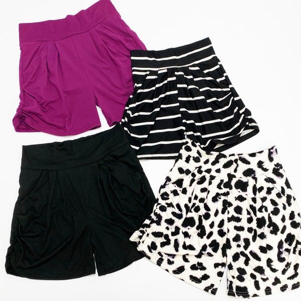 Buttery Soft Stretchy Harem Shorts