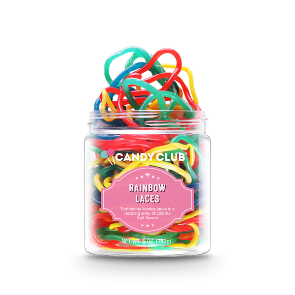 Rainbow Laces - Candy Club