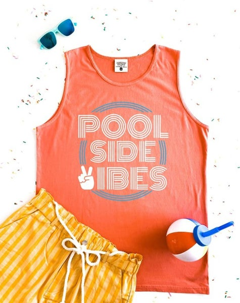 Pool Side Vibes Tank Top