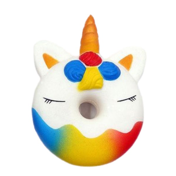 Jumbo Unicorn Donut Squishy - Slow Rising