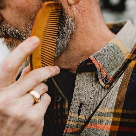 Wood Beard Comb
