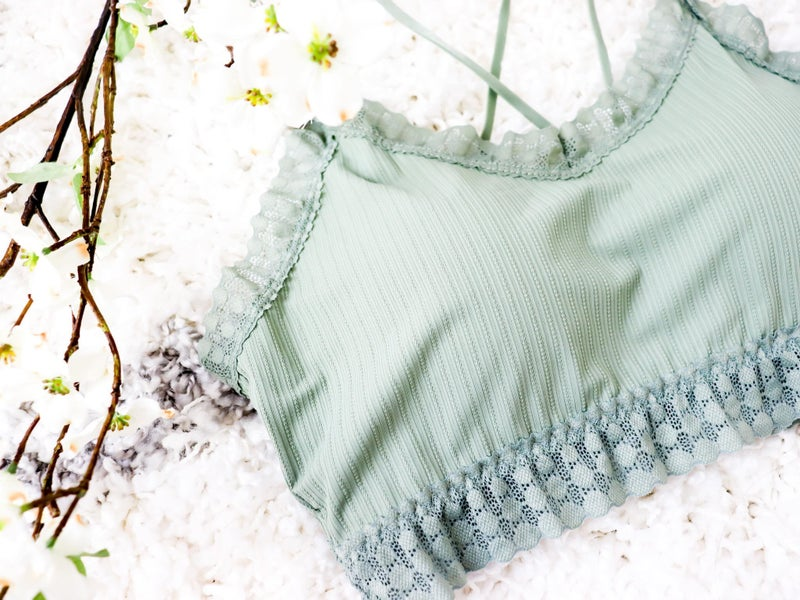 First Crush - The BEST EVER Bralettes - 4 colors - Reg/Plus